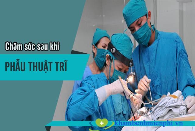Tiểu phẫu trĩ lưu ý 2